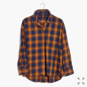 Madewell plaid